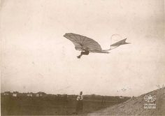 Otto Lilienthal am Fliegeberg 1894