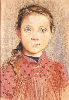 Portrait of a Girl, 1895 by Stanisław Wyspiański on Curiator, the world's biggest collaborative art collection. Painting For Kids, Painting & Drawing, Art For Kids, Art Children, Portraits, Portrait Art, Jr Art, Art Addiction, Small Sculptures