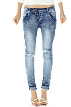 Bestyledberlin Damen Jeans Hosen, Baggyjeans j244p 36/S