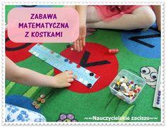 Zabawa matematyczna z kostkami dodawanie klasa 1