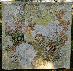 The Girl from Ipomoea Hand Quilting, Quilting Ideas, Quilting Designs, Quilt Patterns, One Block Wonder, Kaleidoscope Quilt, Hexagon Quilt, Panel Quilts, Quilt Stitching