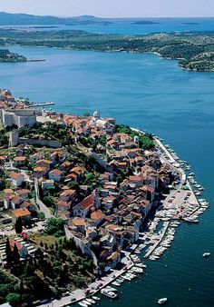 Sibenik, Croatia Long walk to the top, but worth it Visit Croatia, Croatia Travel, Montenegro, Les Balkans, Countries Europe, Dalmatia Croatia, Dubrovnik, Adventure Is Out There, European Travel