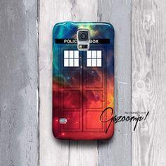 Samsung Galaxy S5 Case  Doctor Who Tardis Nebula by Gazooomp, $16.00