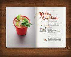 Artistic Type - Cocktail Recipe Book design for Dre Masso. The...