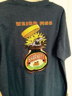 Weird Fish Short Sleeve Crew Neck Regular T-Shirts for Men Weird Fish, Marmite, Blue Denim, Crew Neck, Clothing, Mens Tops, T Shirt, Shopping, Fashion