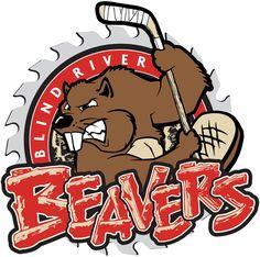 1999, Blind River Beavers (Blind River) Blind River Community Centre Div: West #BlindRiverBeavers #BlindRiver #NOJHL (L9459)