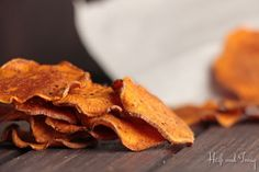 Crunch mich weg: Süßkartoffel-Chips
