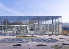 Louvre Lens by SANAA and Imrey Culbert photographed by Julien Lanoo.