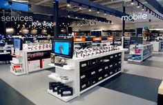 Retail Design | Retail Shelving | Retail Fixtures | Electrical Stores | by HMY Group, your Global shopfitting partner