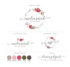 Mini Branding Paket Fotografie Logos und von StelarisDesign auf Etsy