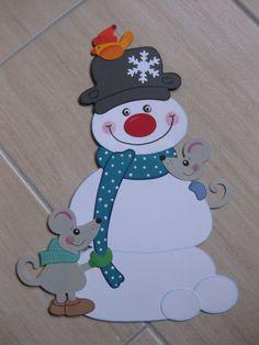 3 kleine winter eulen fensterbild aus tonkarton blau basteln pinterest christmas winter. Black Bedroom Furniture Sets. Home Design Ideas