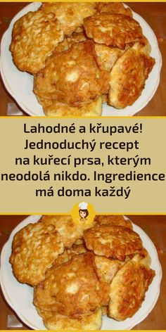Appetizer Recipes, Appetizers, Czech Recipes, Food Dishes, Ham, Chicken Recipes, French Toast, Food And Drink, Low Carb