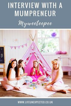 Interview with a Mumpreneur. Do you want to be a Mumboss, Girl boss or Mumpreneur? Want to start your own business from home and raise your children? Find out how other mumpreneurs balance babies and business. Read Kate from Myweeteepee's story here!