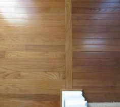 hardwood flooring Simple way to transition from one type of hardwood floors (old) to another type of hardwood floors (new) Types Of Hardwood Floors, Old Wood Floors, Installing Hardwood Floors, Refinishing Hardwood Floors, Types Of Flooring, Flooring Options, Flooring Ideas, Floor Refinishing, Timber Flooring