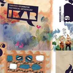 Ikar - cultural monthly from Toruń
