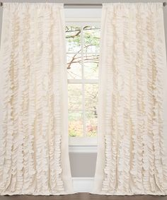 Ivory Belle Curtain Panel | something special every day