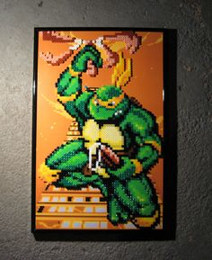 Perler TMNT (Michelangelo) by Dlugo1975 on deviantART