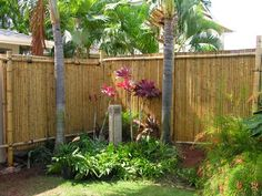 #*Bamboo fencing -tropical fence <3 sizes> + ...