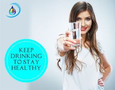 The body is composed of 55 and 78 percent water depending on body size. As an added plus, it has no calories, fat, carbohydrates, or sugar. Keep drinking to stay healthy. #health #water #aquansh