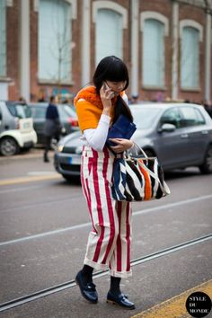 0965601c6f58 Milan Fashion Week FW 2014 Street Style  Susie of Style Bubble