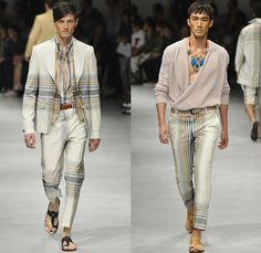Vivienne Westwood 2014 Spring Summer Mens Runway Collection - Milan Italy Catwalk Fashion Show: Designer Denim Jeans Fashion: Season Collections, Runways, Lookbooks and Linesheets