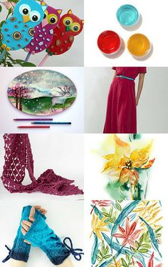 The Joy of Colors by Ale on Etsy--Pinned with TreasuryPin.com