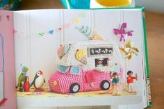 Check out the beautiful sneak peek photos at Greedy for Colour of Let's Go Camping!: Crochet Your Own Adventure