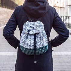 WEBSTA @ knitknotkiev - You can order this backpack in our Etsy shop now! ⠀etsy.com/shop/knitknotkiev ⠀We do custom colors! ⠀Рюкзаки на молнии возможно заказать в разных цветах!⠀Для Украины заказ можно сделать на knitknotkiev.crafta.ua или в директ ⠀#knitknotkiev #crochet #backpack #tshirtyarn #zpagetti #zpagettiyarn #trapillo #трикотажнаяпряжа #трикотажная_пряжа #handmade #etsy #crafta #рюкзак #вязание #madeinkiev #madeinukraine #knit #knitting ⠀⠀
