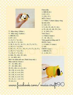 Best Knitting Needles - Essential Features You Should Be Looking For Crochet Chart, Crochet Patterns Amigurumi, Knit Or Crochet, Cute Crochet, Crochet Dolls, Kawaii Crochet, Tsumtsum, Crochet Keychain, Crochet Projects