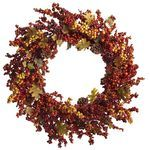 Faux Fall Berry Wreath