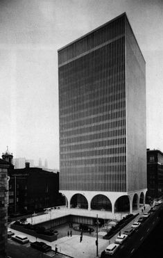 Minoru Yamasaki, I.B.M. Office Building, Seattle, Washington, 1963