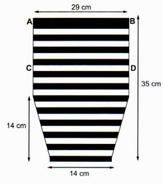 MATERIALES: 100 gramos de fibra acrilica semigorda en color negro; 100 gramos en color blanco; 50 gramos en color fucsia; Aguja para cr...