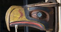 Does this mask from the Kwakwaka'wakw tribe look familiar to you?    Thanks to The Hudson Museum - The University of Maine the mask is on loan to Burke Museum on the campus of University of Washington through July!