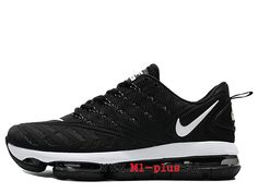 5ebc6d5eb1e0 Nike Air Max 2019 Nouveau Coussin Dair Chaussures de sport Hommes Noir Blanc  SH1712-001