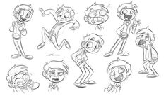 Kankers by Sibsy on DeviantArt Male Character, Fantasy Character, Character Model Sheet, Character Sketches, Character Design Animation, Character Drawing, Character Illustration, Cartoon Body, Cartoon Man