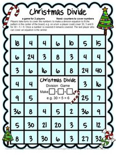43 best christmas maths images on pinterest christmas maths free christmas activities christmas math games ibookread Download