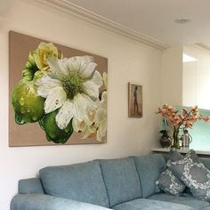 Fresh from my studio a painting from my series of oil paintings Gates of Paradise.  It is always deeply satisfying finishing a painting.  http://ift.tt/2tw3w8c - #annemiddleton #gatesofparadise #anemone #gbartconsulting #oilonlinen #oilpainting  #inmystudio #melbournelife #melbourneartist #australianart #australianartist #contemporaryart #insitu