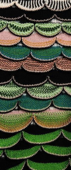Fabric #Details | Missoni Fall 2014 Close Up