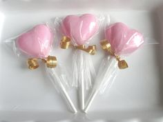 12 Heart Lollipops, heart suckers, chocolate lollipop, chocolate hearts, red candy favors, wedding favors, Valentines day, Valentine candy  These