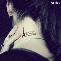Small Eiffel Tower Tattoo | Tattoos - Shop Cheap Temporary Tattoos from China Temporary Tattoos ...