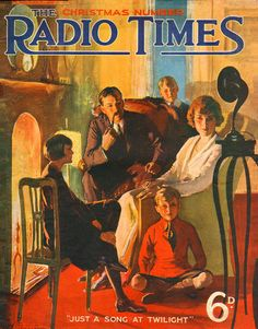 For many, the Christmas 'Radio Times' is a tome of wonder during the festive period. Take a look at how times have changed with Christmas covers spanning 90 years. Radios, Old Magazines, Vintage Magazines, Images Vintage, Vintage Posters, Retro Posters, Film Posters, Travel Posters, Radio Times Magazine