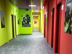 Corridoio al 4 piano
