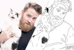 Color Me Book- turn your Instagram photos into a coloring book