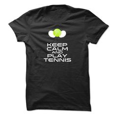 Keep Calm and Play Tennis, Order HERE ==> https://www.sunfrog.com/Sports/Keep-Calm-and-Play-Tennis-iwzxx.html?53624 #xmasgifts #christmasgifts #birthdayparty #birthdaygifts