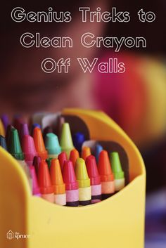 Did you know you could use a blow dryer to get crayon off of your walls? These cleaning hacks are so genius!