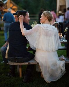 "See the ""Vintage Modern"" in our Kate Bosworth's Wedding Weekend Fashion Details gallery"