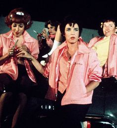 The Pink Ladies pledge is to act cool, to look cool, and to be cool.  Till death do us part, Think Pink!