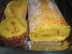 Torta de Iogurte, Pão e Laranja (Yogurt, Bread and Orange Pie) - Portuguese Recipe