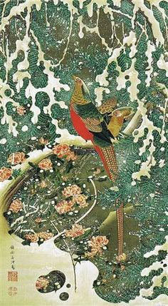 Settyu kinkeizu - Ito Jakuchu