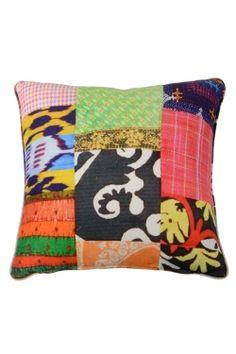 Angela's Patchwork Cushion $250